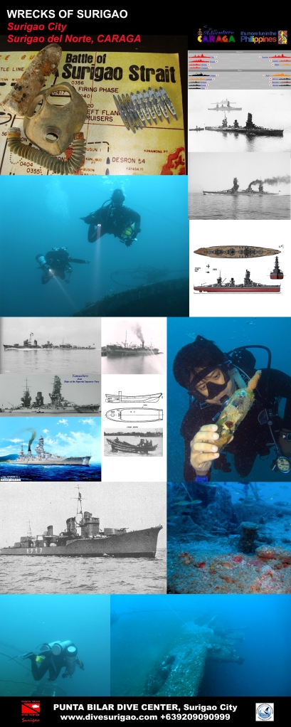 Wrecks of Surigao