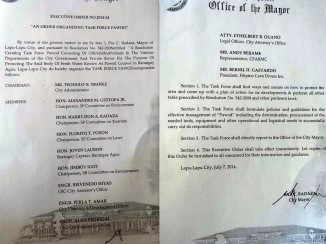 "Executive Order 2014-24 "" An Order Organizing Task Force Pawod""."