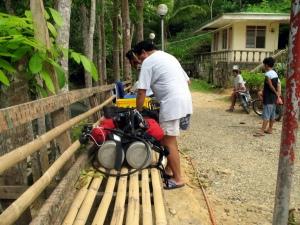 Canawa dive prep